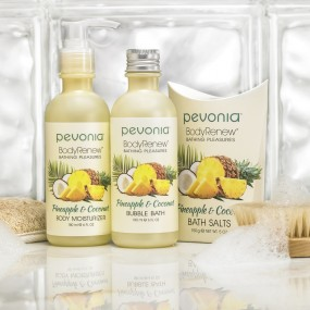 Body Renew Bathing Pleasures Pineapple & Coconut