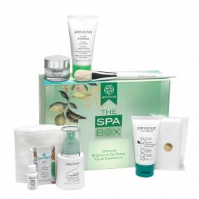 Charcoal Brighten & De-Stress Spa Box Facial-At-Home Experience